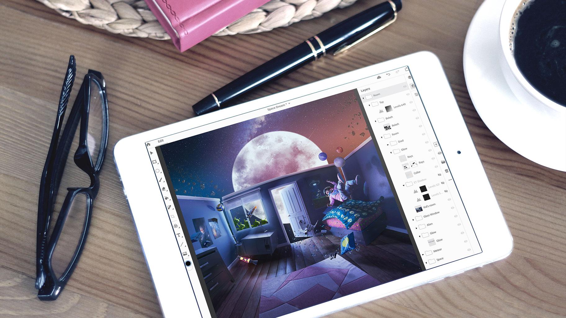 Vollwertiges Photoshop für das iPad ist endlich da!