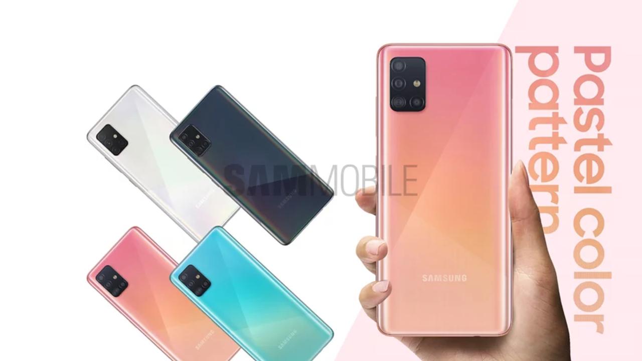 Galaxy-A50-Nachfolger: Neue Pressebilder und Specs zum A51 im Netz