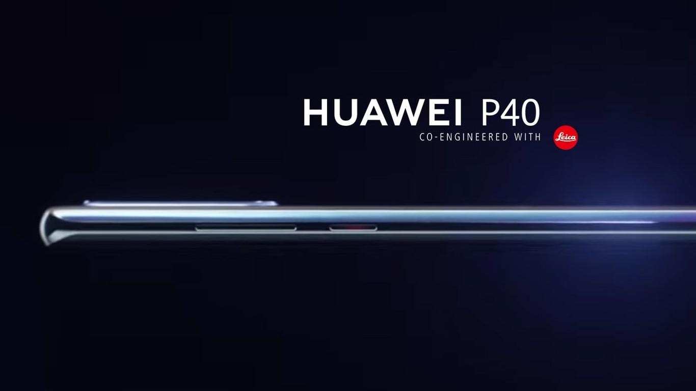 Huawei P40: Wohl mit Dual-Selfie-Cam und Wasserfall-Display