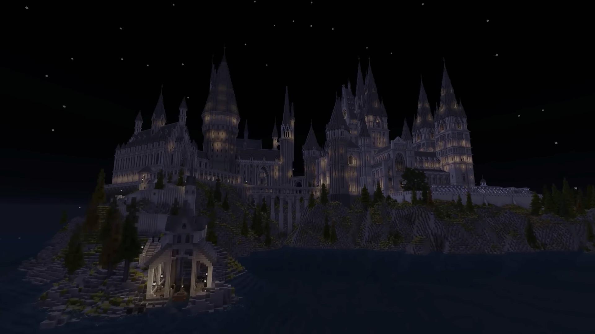 """Magisch! Fans bauen die """"Harry Potter""""-Welt in """"Minecraft"""" nach"""