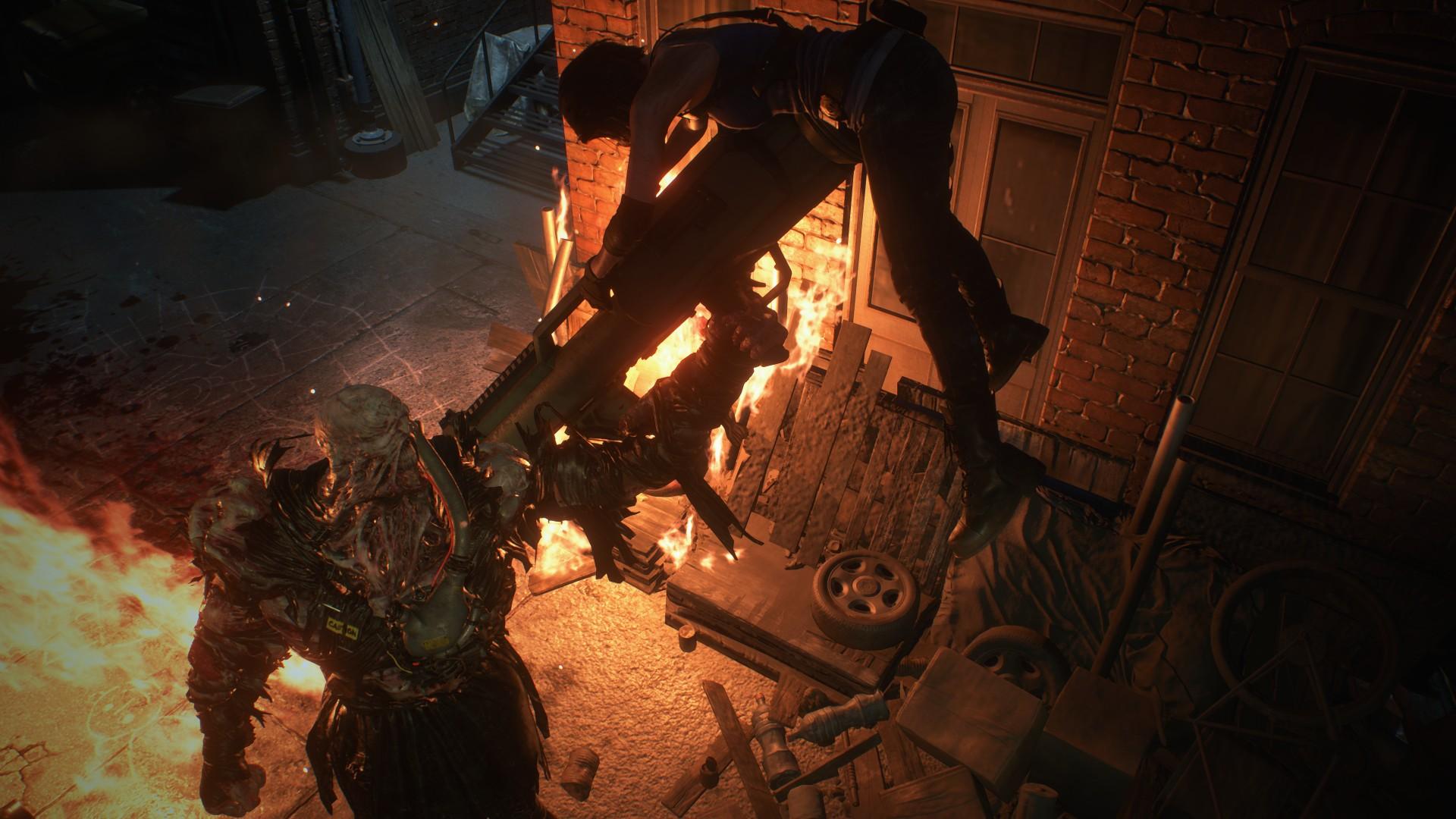 Resident Evil 3 Im Neuen Trailer Stiftet Nemesis Unruhe
