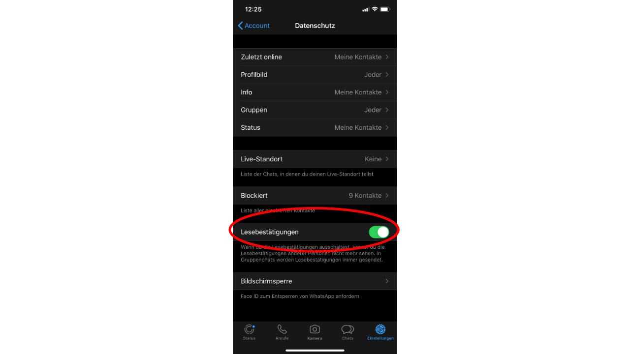 Nicht whatsapp sehen personen status Whatsapp Status